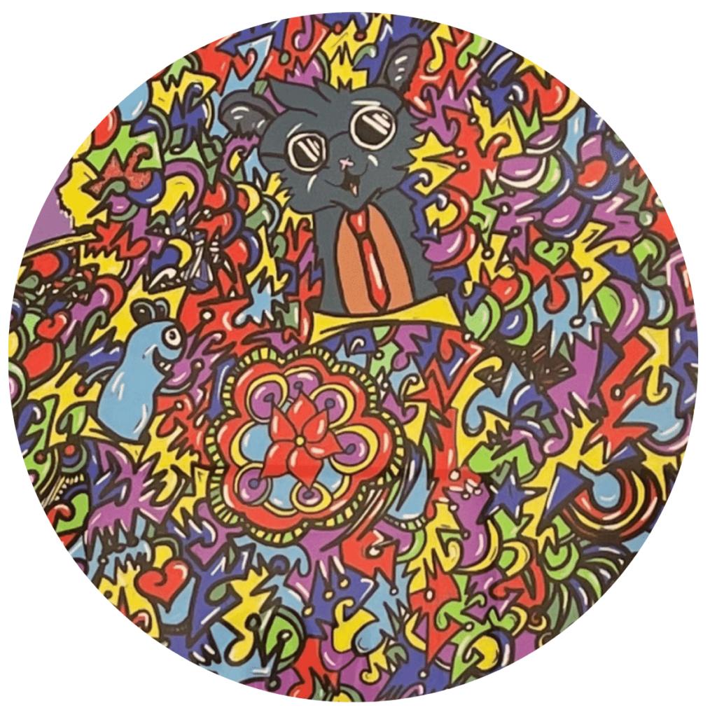 Artiste Pop art Leloluce entrepreneur HPI